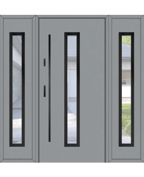 Fargo 12 T - front door with side panels