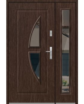 Fargo 15DB - exterior front entry door with side panels