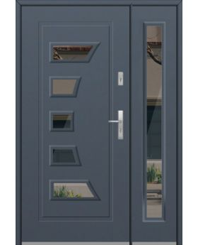 Fargo 18DB - metal front door with side panels
