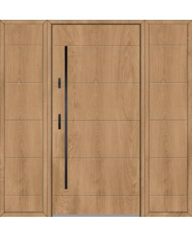 Fargo 26C T - front door with two side panels