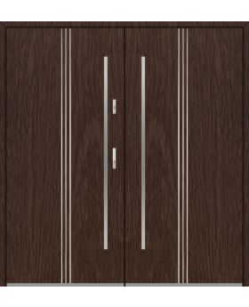 Fargo 32 double - double front doors / french doors
