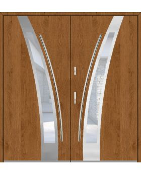 Fargo 36 double - double front doors / french doors