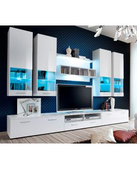 Montreal 1 - White wall unit