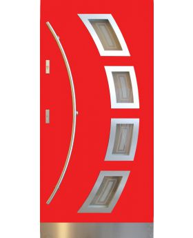 Fargo 21A CAMELEON - red front door