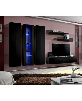 Idea 5 - black entertainment unit