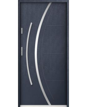 Phoenix - composite single front door