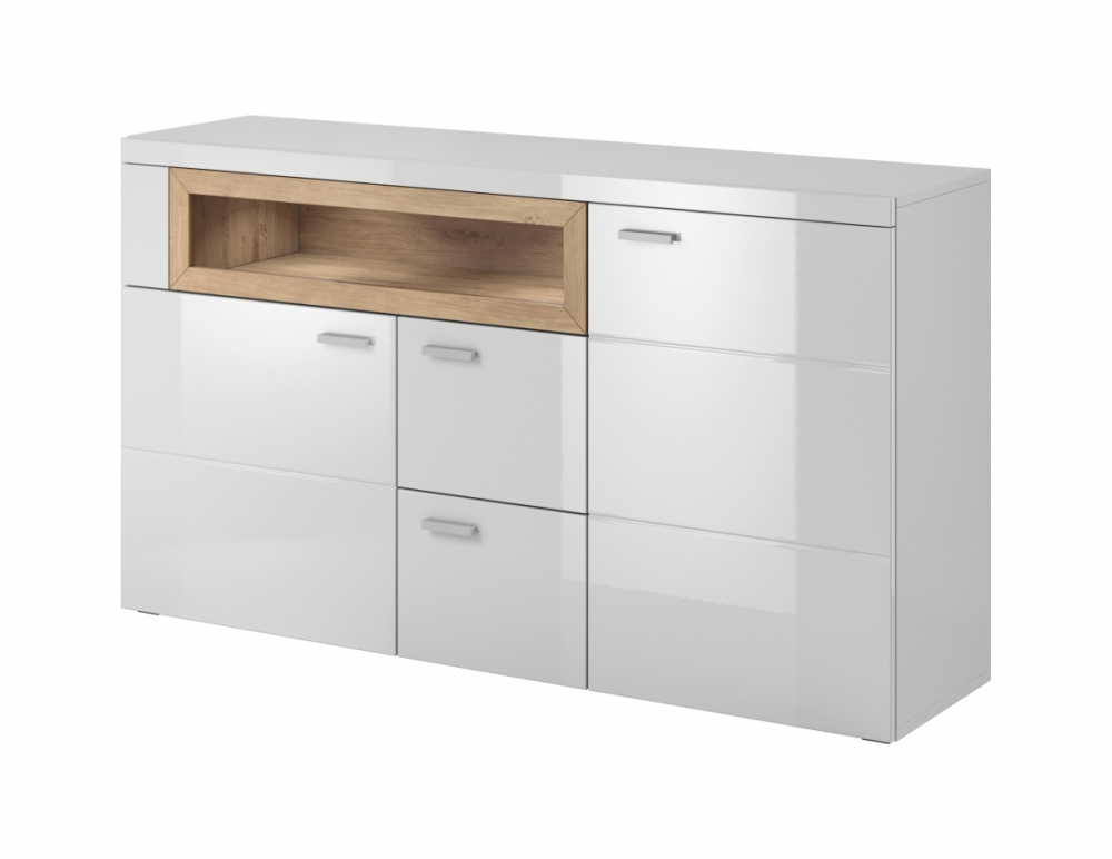 Details about BOX - white dining room sideboard / modern dining room buffet
