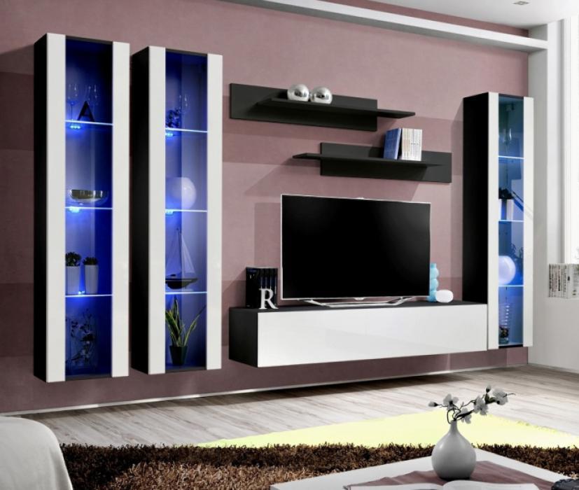 Details about Idea d7 - contemporary wall unit / entertainment center /  modern tv wall unit