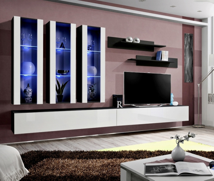 best service 22d43 05285 Details about Idea E4 - modern tv wall unit / entertainment center cabinet  / media tv stand